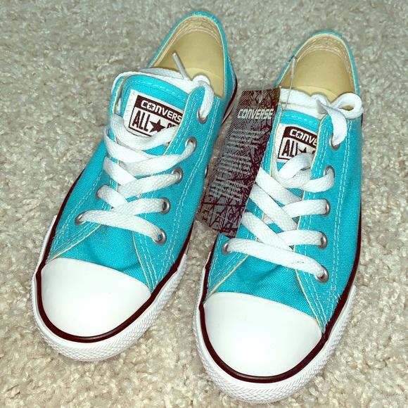 Converse Shoes   Brand New Aqua Chuck